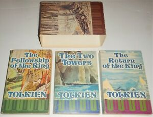 J.R.R. Tolkien, The Lord of the Rings, 1974 paperbacks, First UK edition