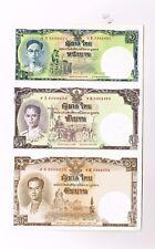 c 2007 Thailand 1 5 10 Baht bank note uncut sheet