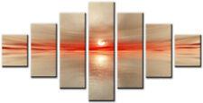 Essen Beige 7 160x90cm GRANDE wall art canvas print OPERA D'ARTE CASA SALOTTO