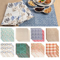 "4pk 20x20"" 100% Cotton Cloth Napkins Fabric Dinner Napkins Table Napkins by TAG"