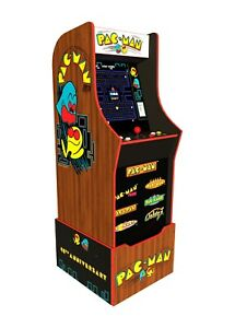 NEW Arcade1UP Pac-Man 40th Anniversary Edition Home Arcade Cabinet 7 Games