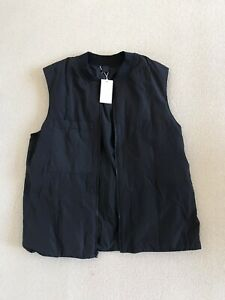 Cos Reversible Navy Blue Gilet Body Warmer Large L End Clothing
