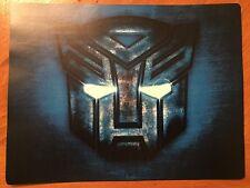 Tin Sign Vintage Transformers Autobot
