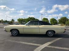 1968 Ford Fairlane Low Miles One Lady Owner Original