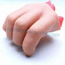 Cute 3rd Fake Hands Plastic Stage Magic Trick 4 Finger Free Shipping