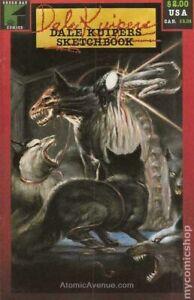 Dale Kuipers Sketchbook #1 FN 6.0 1986 Stock Image