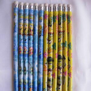 12 Pencil Children'Kids Boys Filler Fitter  party Loot Gift Bags Sponge Bob