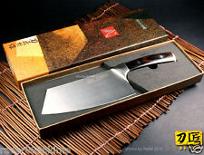 New Full Tang Chopping Knife Vegetable Chinese Cleaver 6.6 inch Kitchen Cutlery
