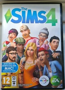 THE SIMS 4 - BASE PC GAME - FAST POST - USED SINGLE USE CODE **READ DESCRIPTION
