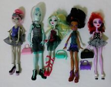 Monster High Doll Dance Class 5 Pack TARGET EXCLUSIVE RETIRED SET CLEAN RARE