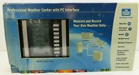 Professional Weather Center with PC Interface WS-2310 THE WEATHER CHANNEL ~ New