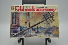 "Bandai 8223-125 Field work accessory No.5 ""Telegraph Pole"" 1/48 scale Sealed"