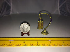 VINTAGE MINIATURE HANGING BIRD CAGE SEE DESCRIPTION FOR SIZE