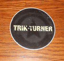 "Trik Turner Sticker Original Promo Circle 4"" Doug Moore Rap Rock RARE"