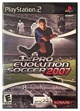 Winning Eleven: Pro Evolution Soccer 2007 (PS2, 2007) BRAND NEW SEALED