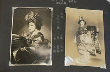 WHOLESALE Japan Antique Photo Traditional Dancing Kimono Dancer Actor F/S 984f38