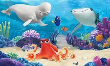 Fototapete Kinderzimmer selbstklebend Finding Dory Wandbild Disney Pixar Nemo