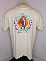 VTG 80s Wild Horse Saloon Nashville TN Bar Horse Vacation T-Shirt USA XL