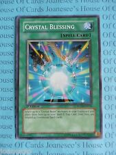 Crystal Blessing FOTB-EN034 Common Yu-Gi-Oh Card Mint/NMint 1st Edition