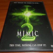 Mimic 2 (DVD, Widescreen 2001) Alix Koromzay, Bruno Campos Used