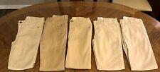 Girls school uniform lot of 5 khaki pants size 10 children's place Jordache