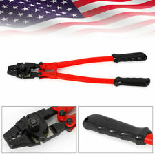18 Hand Swager Wire Rope Cable Railing Swaging Tool Steel Cable Cutter Crimper