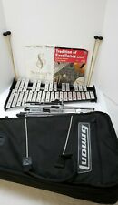 LUDWIG XYLOPHONE 32 Key With Case And Stand  2 SETS MALLETS 2 MUSIC BOOKS 1DVD