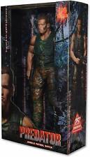NECA Predators Dutch Arnold Schwarzenegger Action Figure, 1/4 Scale