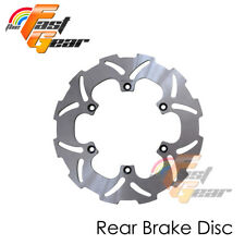 Solid Rear Brake Disc Rotor x1 For Yamaha YZ 250 F 02 03 04 05 06 07 08 09-13