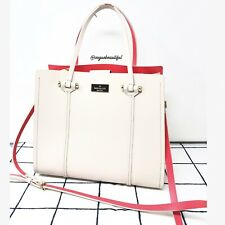 Kate Spade Arbour Hill Elodie Two Tone Nude Neon Pink Preloved Tote