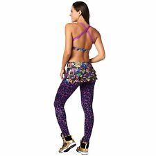 ZUMBA WEAR La Gozadera Ruffle Leggings BNWT size XS