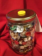 New listing Vintage Button Assorted Jar Heaven