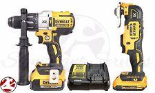 DEWALT DCD996 DCS355 20V MAX Brushless Oscillating Multi-Tool Hammer Drill Kit