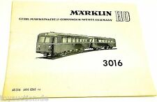 Manuel Märklin 3016 68 316 MN 0361 ru - å