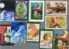 Playing Swap Cards  20  VINT& SEM1 VINT  DRINK  ADVTS COCA COLA -7 UP -PEPSI B21