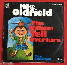 """MIKE OLDFIELD -William Tell Overture- Rare German 7"""" with unique Picture Sleeve"""