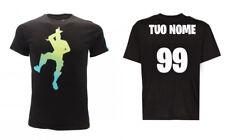 T-Shirt Originale Fortnite Epic Games ufficiale Loser Take L personalizzata nome