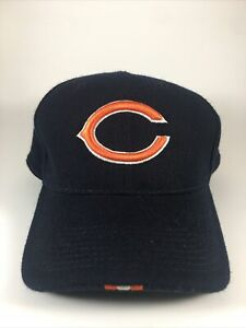 Chicago Bears Men's Nike NFL Fitted Hat Sz 7.5 Blue Football 100% Wool