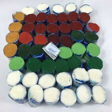 Lot of 51 Vintage Herrschners Pre Cut Acrylic Latch Hook Yarn With Signature Tag