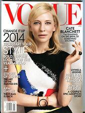Vogue Magazine January 2014 Cate Blanchett EX 070816jhe