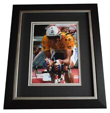 Miguel Indurain SIGNED 10x8 FRAMED Photo Autograph Display Cycling AFTAL & COA