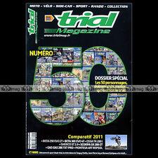 TRIAL MAGAZINE N°50 ALPHA 240 BERNARD ESTRIPEAU SHERCO 2.9 ST BETA 290 EVO 2
