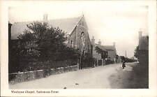 Sutton on Trent. Wesleyan Chapel by Savage, Printer, Newark.