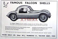 1958 Ford 8-10 Falcon 'Mark II Shell' Kit Car Advert - Auto Photo Print Ad