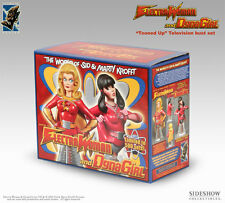 Electric Tiki Electra Woman & Dyna Girl Tooned-Up Busts