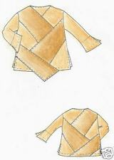 Designer, Schnittmuster, Lagenlook, Patchwork, Shirt Kairo Gr. XXL, 56/58