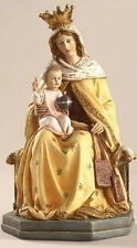 """NEW! 8"""" Our Lady of Mount Carmel Statue Figurine Blessed Virgin Mary Jesus Gift"""