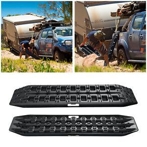 2pc Recovery Tracks Snow Mud Sand OffRoad Truck 4WD 16T Tire Traction Board 95cm