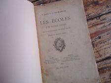 RARE - LORRAINE LES ECOLES D' UN VILLAGE TOULOIS COMMENCEMENT XVIIIé 1892 TOUL