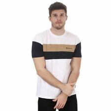 Men's Ben Sherman Heritage Sports Block Classic Fit Cotton T-Shirt in White